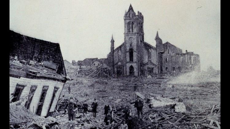 Galveston Hurricane 1900