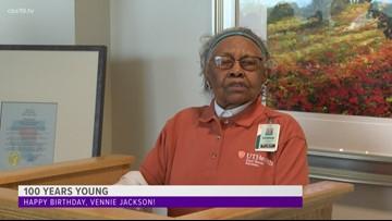 100 year old hospital volunteer honored