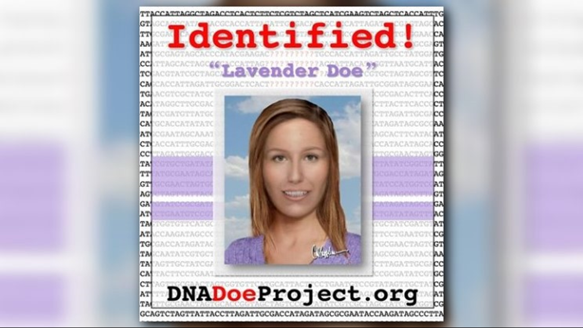 12 YEARS LATER: 'Lavender Doe' identified | cbs19 tv