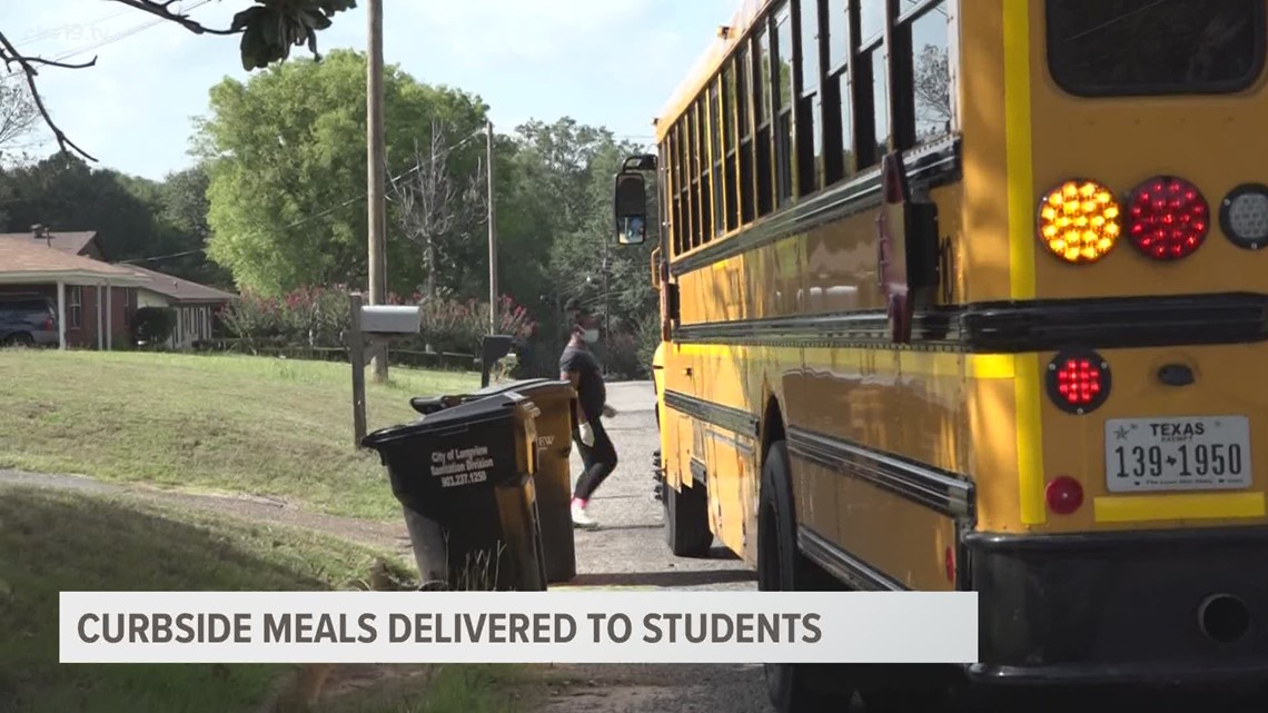 Eye on Education: Longview ISD delivering meals to student