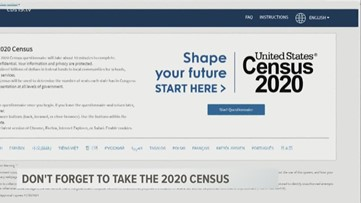 Don't forget to fill out the 2020 Census