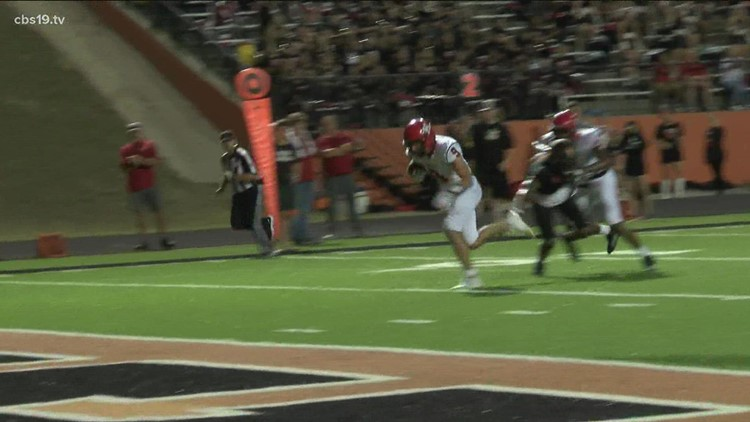 UNDER THE LIGHTS: Kilgore rolls over Gladewater 54-0 in CBS19's Game of the Week