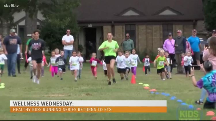 Wellness Wednesday: Healthy Kids Running Series returns to ETX