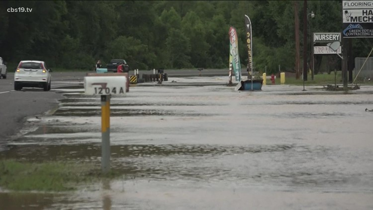 Heavy flooding impacts in East Texans