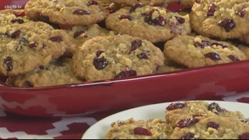 Mr. Food: Oatmeal Cranberry Cookies