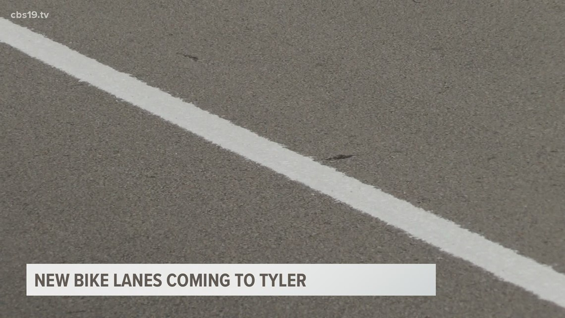 New bike lanes coming to Tyler