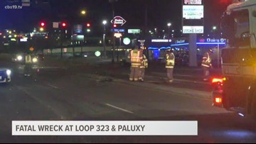 WATCH: Update on fatal accident at Loop 323 and Paluxy