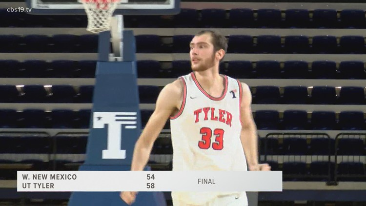 UT Tyler gets back to their winning ways with 58-54 victory over Western New Mexico