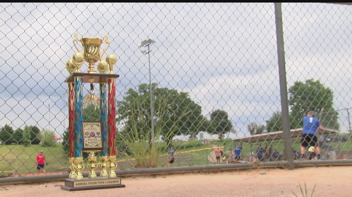 Rivals on the diamond, partners in the community. The annual Tyler Police vs Tyler Fire softball game helped raise money for a good cause