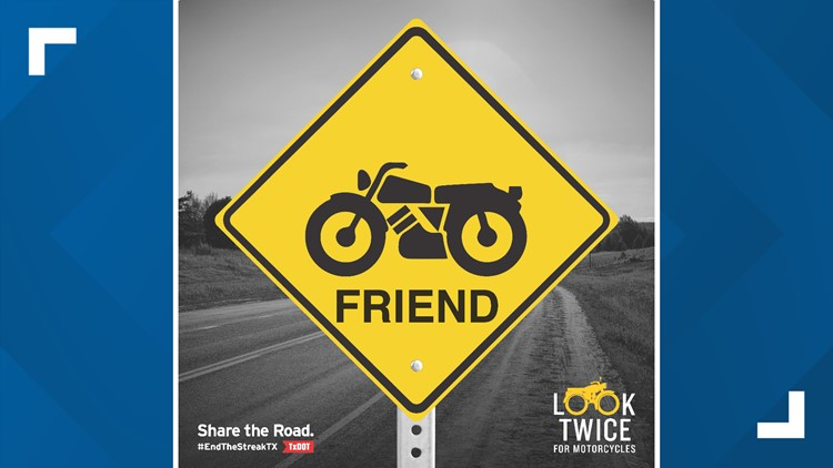 Share the road: Motorcycle Safety Awareness Month