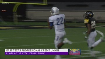 East Texas Professional Credit Union Player of The Week: Jordan Jenkins