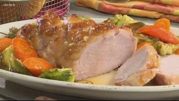 Mr. Food: Brown Sugar Glazed Pork Roast