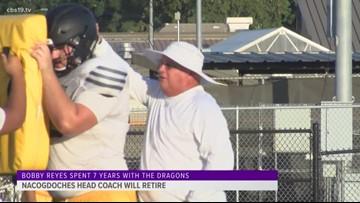 Nacogdoches football coach will retire in June