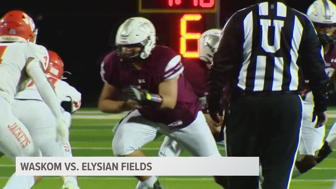 UNDER THE LIGHTS: Waskom triumphs over Elysian Fields 44-41