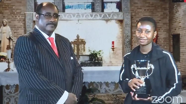 Tyler student honored for activism with 2021 Rev. Jerome R. Milton Award for non-violent social change