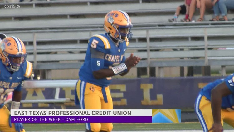 ETPCU PLAYER OF THE WEEK: Chapel Hill's Cam Ford