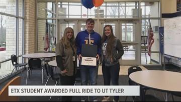 Jacksonville student receives full scholarship to UT-Tyler