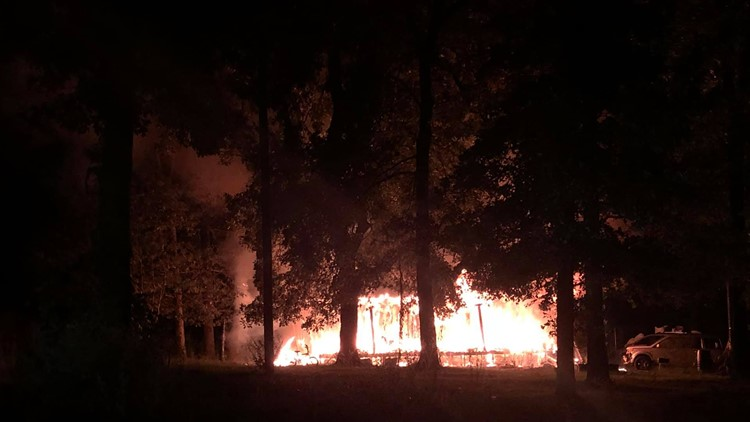 Owners of Tyler Thrift miraculously escape house fire, working to rebuild