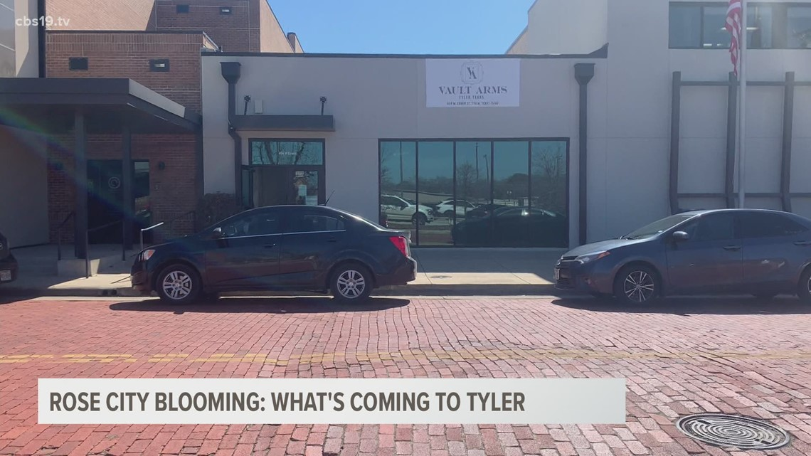 What businesses are coming to Tyler?
