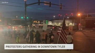 Peaceful protests continue in Tyler for 5th day
