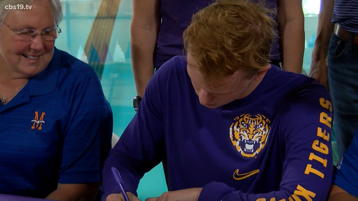 LSU BOUND: East Texas swimmer is headed to Baton Rouge to swim from the Tigers