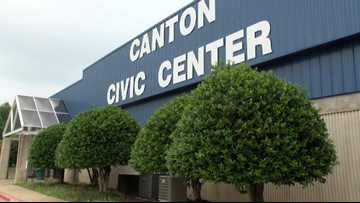 Lost and found donation center opens for Canton tornado victims