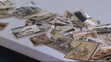 UPDATE: Owner of old box of photos found in tornado rubble found