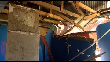 Eustace residents struggle to rebuild after tornado