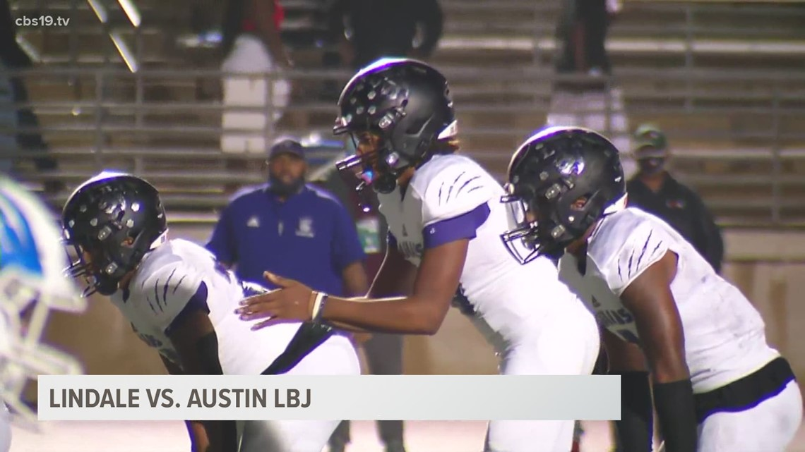 UNDER THE LIGHTS: Lindale defeats LBJ 31-28