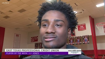 East Texas Professional Credit Union Player of the Week - J.J. Jones of Tyler Lee