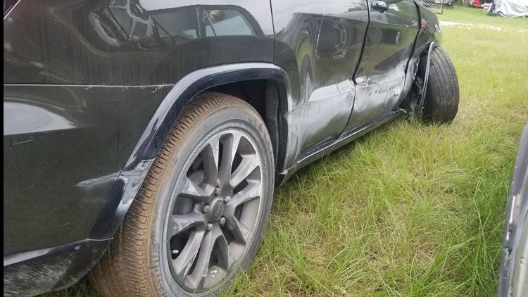 Kimberly Flint's car