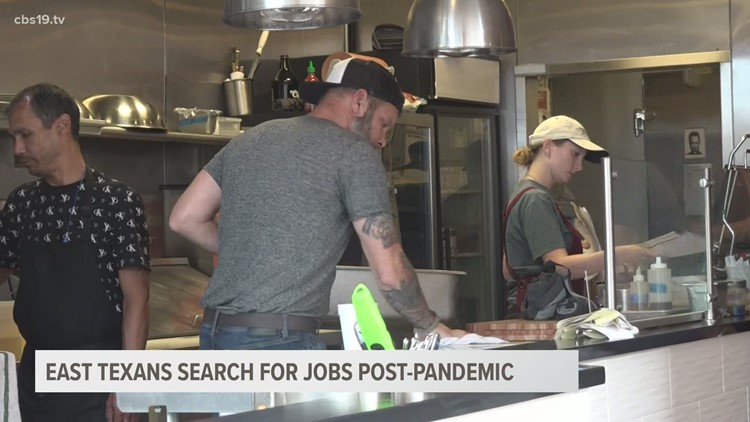 As unemployment rates decline, some East Texans still struggle to find work