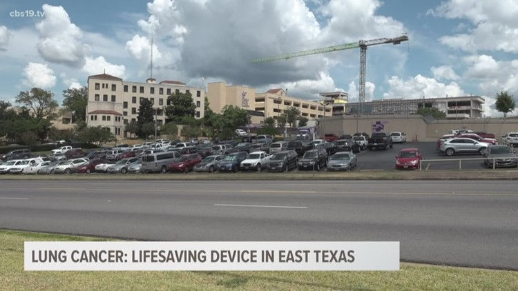 New device in East Texas detects lung cancer in early stages