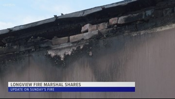 Longview Fire Marshal comments on weekend fire
