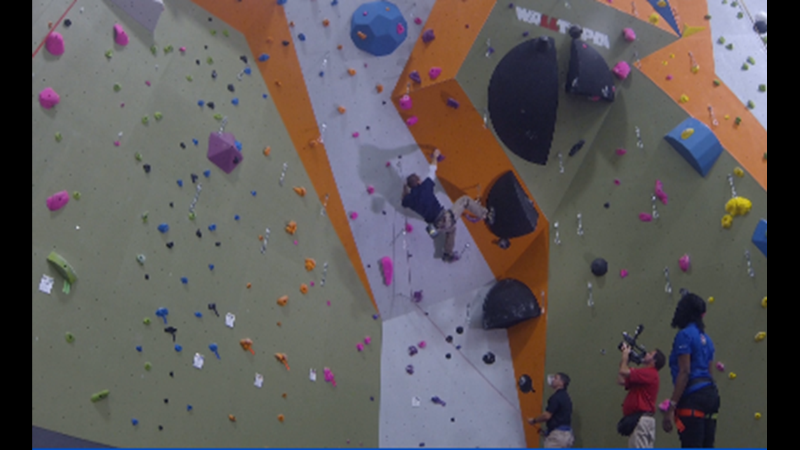 Tashara Travels: New Rock Climbing Gym Opens in Tyler