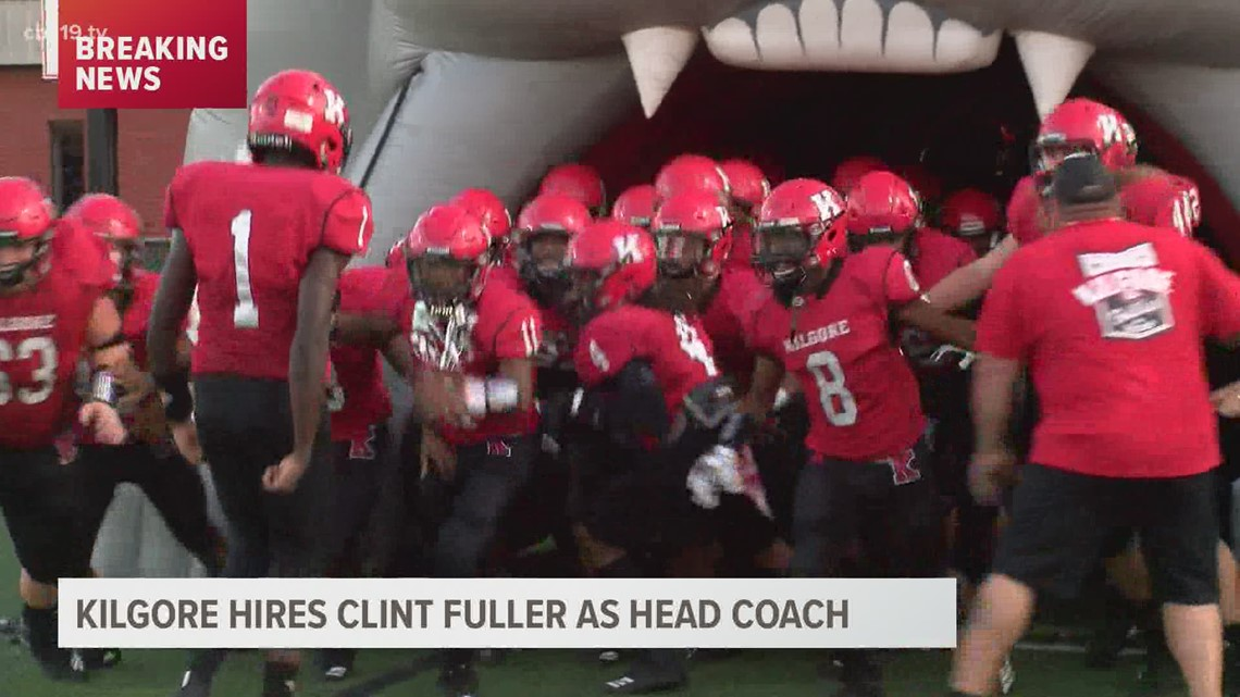 Clint Fuller to be the next Head Football Coach of Kilgore High School