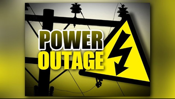 More than 9,500 Upshur Rural Electric customers without power