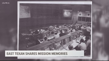 Mission memories: East Texan shares insider moments from Apollo 11