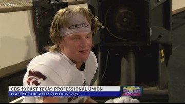 East Texas Professional Credit Union Player of The Week: Skyler Trevino