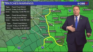Flooding likely to continue overnight