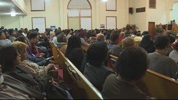 Tyler community vigil honors victims of house fire