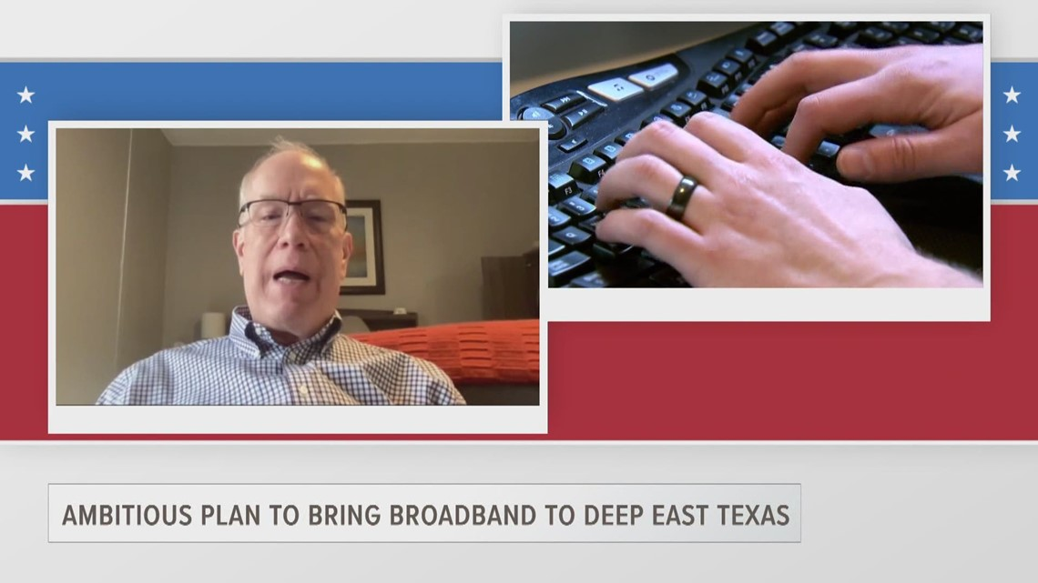ETX Covered: DETCOG's Lonnie Hunt talks about bringing broadband to Deep East Texas, part one