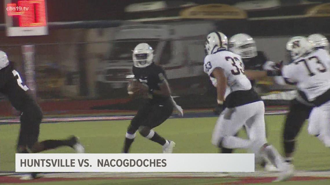 UNDER THE LIGHTS: Huntsville beats Nacogdoches