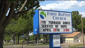 Service of Hope hosted on first anniversary of tornado outbreak