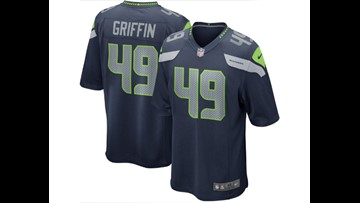 online store 85263 62176 Seattle Seahawks linebacker Shaquem Griffin's jersey one of ...