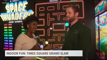 ETX INDOOR FUN: Tyler's Time Square Grand Slam