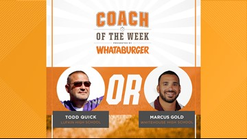 VOTE: Whataburger Coach of the Week - Quick vs. Gold