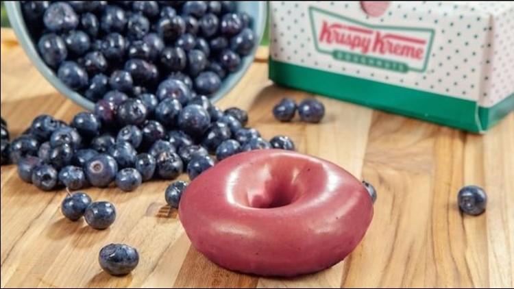 Krispy Kreme is adding a seasonal twist to its legendary glazed doughnut.