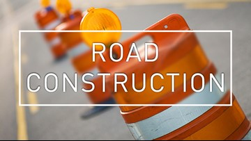 Part of I-20 to experience lane closures through the weekend