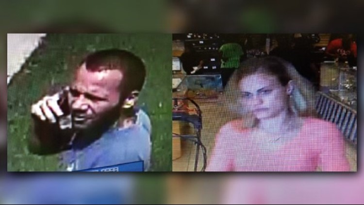 HAVE YOU SEEN THEM? These two are wanted for their involvement in a home burglary and trying to pawn the items they're suspected of stealing.